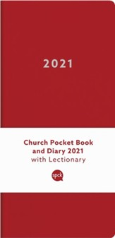 2021 Church Pocket Book and Diary, Red