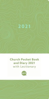 2021 Church Pocket Book and Diary, Green Earth