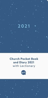 2021 Church Pocket Book and Diary, Blue Sea