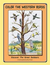 Color the Western Birds: Discover the Great Outdoors
