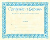 Certificate of Baptism, Blue (6)