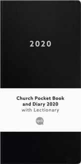 2020 Church Pocket Book and Diary, Black