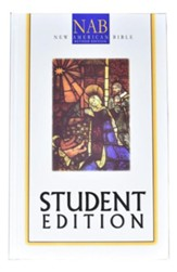 NAB Deluxe Student Bible; hardcover--indexed