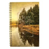 Trust In the Lord With All Your Heart Wirebound Notebook