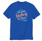 Mighty Fortress VBS: Crown of Victory T Shirt, Youth Medium