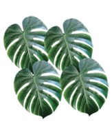 Shipwrecked: Fabric Palm Leaves (pkg. 4)