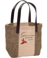 Cozy Mountain Lodge Tote