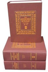The Anchor Bible Dictionary, 6 Volumes