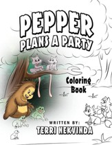 Pepper Plans a Party: Coloring Book