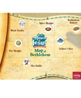 Miracle of Jesus Map of Bethlehem, Pack of 10