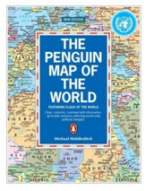 Penguin Map of the World