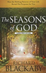 The Seasons of God, Large Print - Slightly Imperfect