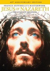 Jesus of Nazareth: The Complete Miniseries:  40th Anniversary Edition, DVD