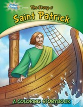 The Story of Saint Patrick, A Coloring Storybook