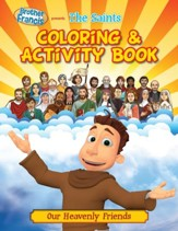 Coloring & Activity Book: The Saints