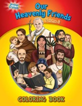 Our Heavenly Friends Coloring Book, Volume 4