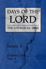 Ordinary Time, Year A, Vol 4