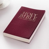 KJV Budget Gift & Award Soft Cover Burgundy