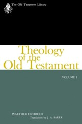 Theology of the Old Testament, Volume One