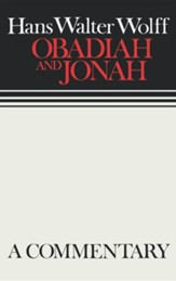Obadiah & Jonah, Continental Commentary Series