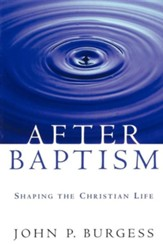 After Baptism: Shaping the Christian Life