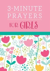 3-Minute Prayers for Girls