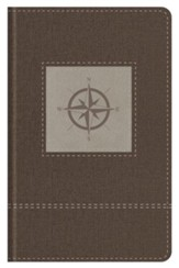 Go-Anywhere KJV Study Bible (Cedar Compass), imitation  leather, Thumb-Indexed