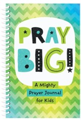 PRAY BIG!: A Mighty Prayer Journal for Kids