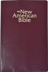 NAB Gift & Award Bible--Imitation Leather, Burgundy