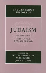 The Cambridge History of Judaism: Volume 3, the Early Roman Period