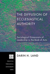 The Diffusion of Ecclesiastical Authority