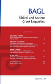 Biblical and Ancient Greek Linguistics, Volume 8