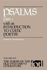 Psalms- Part 1: Volume XIV, The Forms of the Old Testament Literature (FOTL)