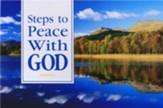Steps to Peace with God: Scenic Version pack of 25 tracts