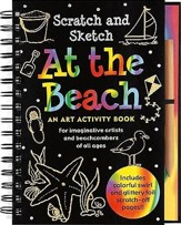 At the Beach: An Art Activity Book for Imaginative Artists and Beachcombers of All Ages [With Wooden Stylus]