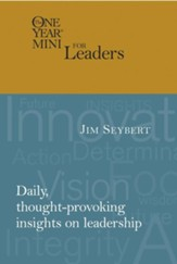 The One Year Mini for Leaders - LeatherLike Tan