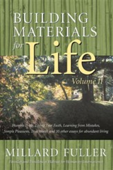 Building Materials for Life, Volume II