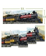 Rocky Railway: Giant Train Poster Pack (set of 5)