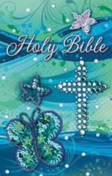 Sequin Bible - Teal