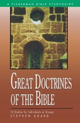 Great Doctrines of the Bible, Fisherman Bible Study Guides  - Slightly Imperfect