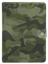 Biblia Compacta Metal Camuflaje NTV  (NTV Compact Metal Camouflage Bible) - Slightly Imperfect