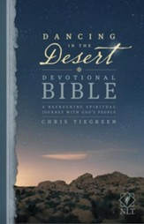 NLT Dancing in the Desert Devotional  Bible: A Refreshing Spiritual Journey with God's People, softcover