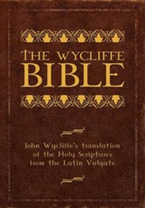 Wycliffe Bible, Paper