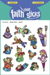 Stickers: Winter Kids