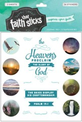 Faith That Sticks: Stickers Psalm 19:1