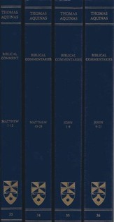 Commentary on the Gospels of Matthew and John: Complete Set (Latin-English Edition)