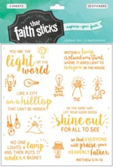 Faith that Sticks: Stickers Matthew 5:14-16