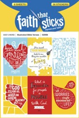 Illustrated Bible Verses Stickers