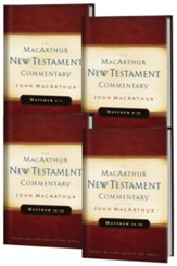 Matthew, 4 Volumes: The MacArthur New Testament Commentary Set