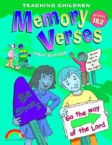 Teaching Children Memory Verses Grades 1-2 - Slightly Imperfect